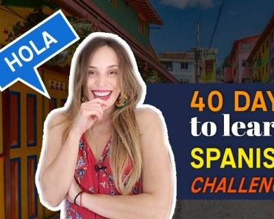40 Días para hablar español // Basic Spanish: Your first lessons Copy