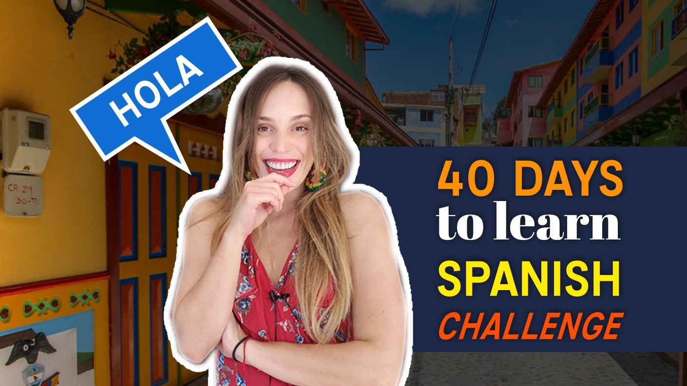 40 days to learn Spanish