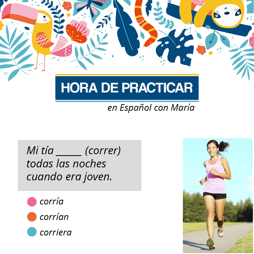 practice spanish exercise